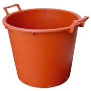 Villa Tubs Terracotta - With Handles