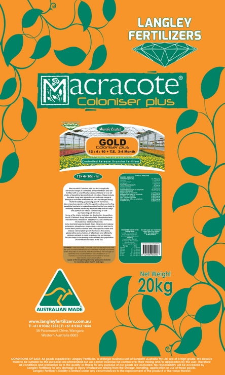 Macracote Gold Coloniser plus 3-4 Month (12 4 10 + TE)