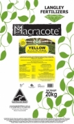 Macracote Yellow 5-6 Month (15 3 9 + TE)